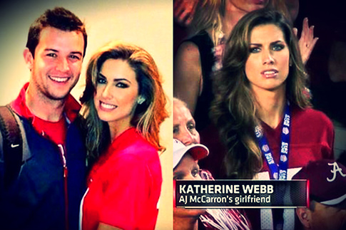 LOOK AJ McCarron Katherine Webb share first photo of new baby