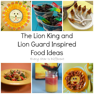 The Lion King and Lion Guard Inspired Food Ideas