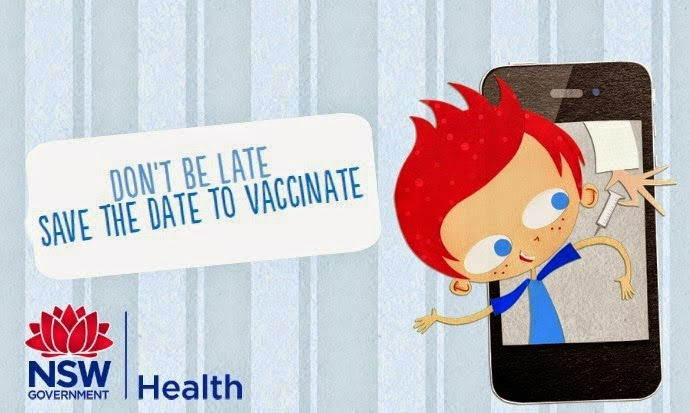 child immunization reminder app save the date