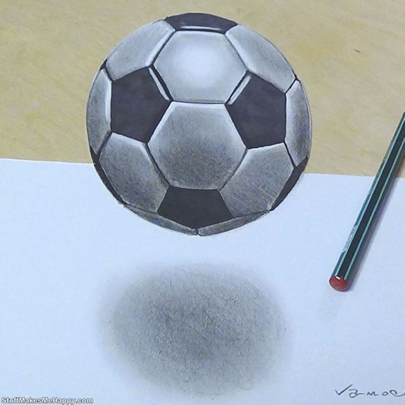 Wonderful 3D-Drawings by Sandor Vamos