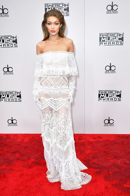 AMAs, red carpet, Gigi Hadid