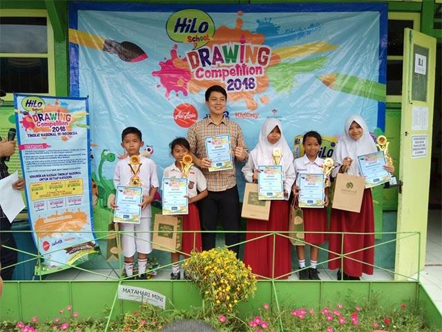 350 Siswa Sdn 2 Gombong Ikuti Hilo School Drawing Competition 2018