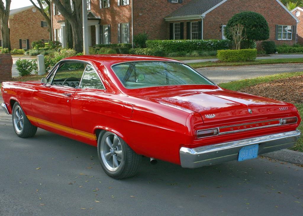 All American Classic Cars 1966 Mercury Comet Cyclone Gt 2