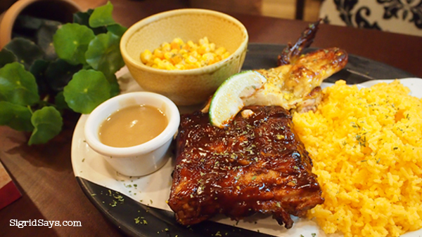 Peri-Peri Charcoal Chicken Bacolod