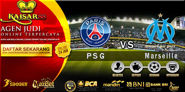 Prediksi Bola Jitu Paris Saint Germain vs Marseille 26 Februari 2018