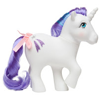 My Little Pony Glory Unicorn and Pegasus Ponies Retro 35th Anniversary Ponies by Basic Fun