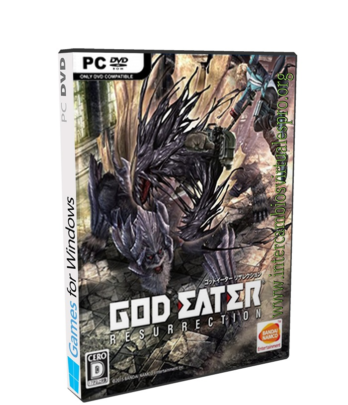 God Eater Resurrection poster box cover