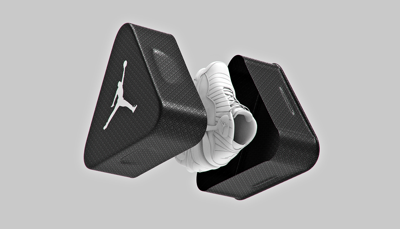 Air Jordan Triangle Aluminum Shoebox (Concept) on Packaging of the World -  Creative Package Design Gallery