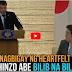 TAOS PUSONG SPEECH ni Duterte sa JAPAN napaMANGHA si Shinzo Abe at TAHIMIK na NAKINIG!