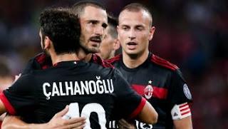 Video Gol Bayern Munich vs AC Milan 0-4 ICC 2017 China