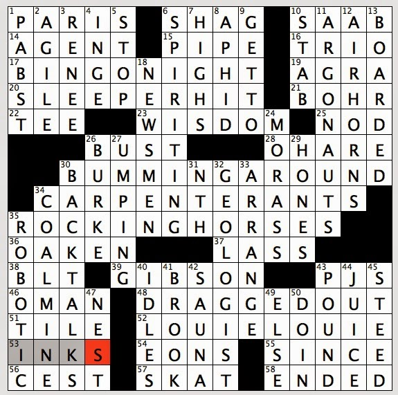 Asian nyc crossword