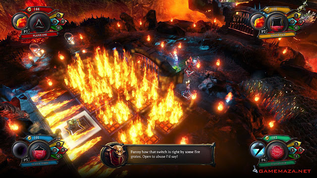 Overlord Fellowship of Evil Gameplay Screenshot 3