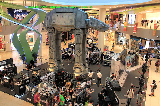 The Star Wars merchandise shop, Vivocity, Singapore