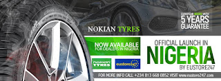 NOKIAN TYRES TO HIT NIGERIAN MARKET, PLANS A GRAND LAUNCH IN LAGOS NIGERIA @NOKIANTYRESNIGE