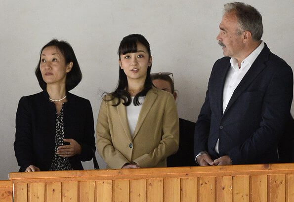 the Princess visited a national horse farm in Babolna
