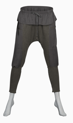 Slouchy Pant with dual open pockets