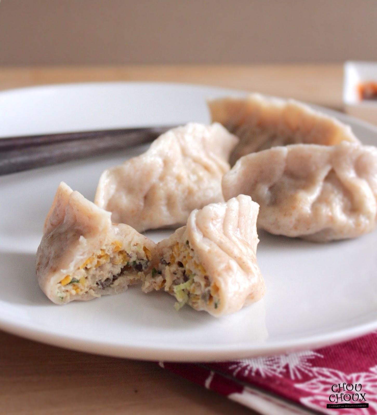 My Chouchoux: Butternut Squash and Turkey Dumplings 南瓜火雞水餃