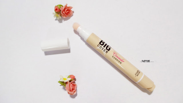 Etude House Big Cover Cushion Concealer review korean beauty
