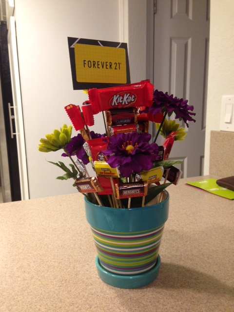 Life By Rikki Diy Candy Bouquet