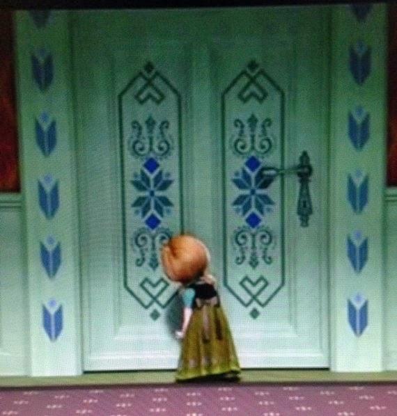 The Enchanted Tree: Elsa's Door Paper Craft Tutorial ...