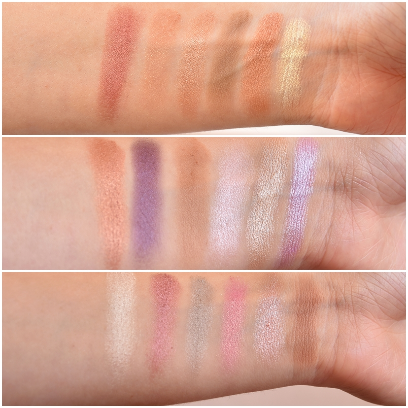Makeup revolution cotton candy swatches