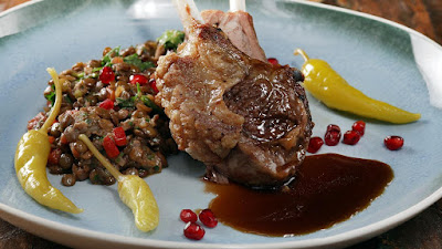 This Lamb and Lentil Ragout is a hearty ragout with olives Lamb and Lentil Ragout Recipe