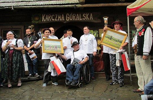 """Adam Rokicki i Robert Pęcherzewski z Restauracji """"Endorfina"""" w Warszawie (II miejsce)."""