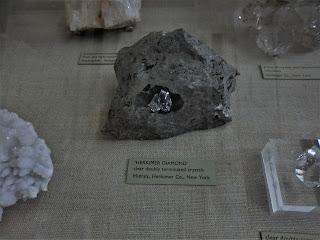 Cuarzo Herkimer, USA, Museo Historia Natural de Londres