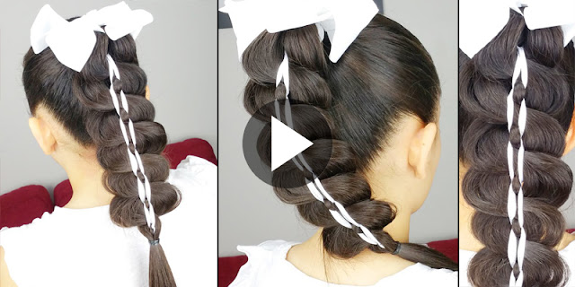 Learn - How To Create Braided Ponytail Hairstyle, See Tutorial