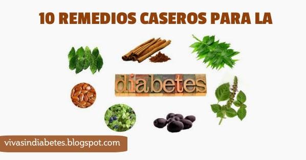 10 Remedios Caseros Excelentes para Combatir la Diabetes