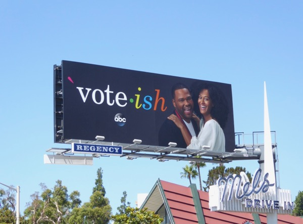 Black-ish Emmy 2017 Vote-ish billboard