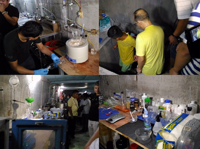 Underground Shabu Laboratory Was Discovered In A Piggery In Pampanga! SHOCKING!