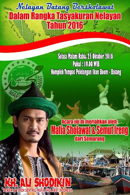 Event Batang | 25 Oktober 2016 | Nelayan Batang Bersholawat
