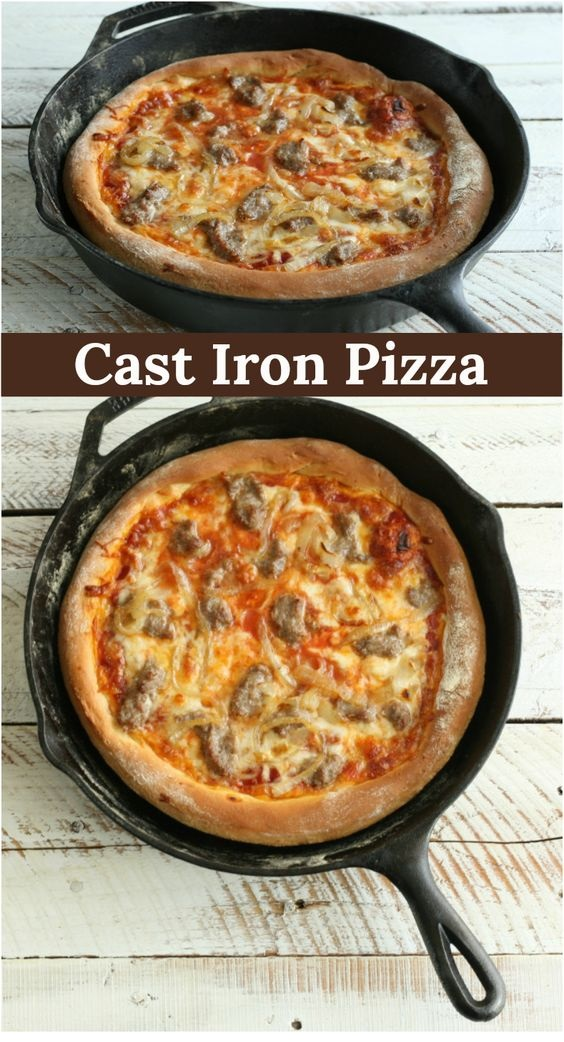 Cast-Iron Pizza