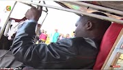 Kenyan unveils his home-made plane in front of crowds and TV crew and it doesnt end well