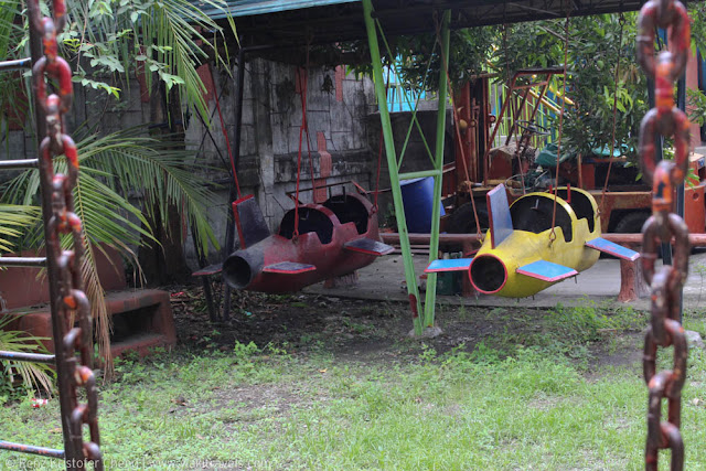 Playground for kids in Casa Elum, Bulacan