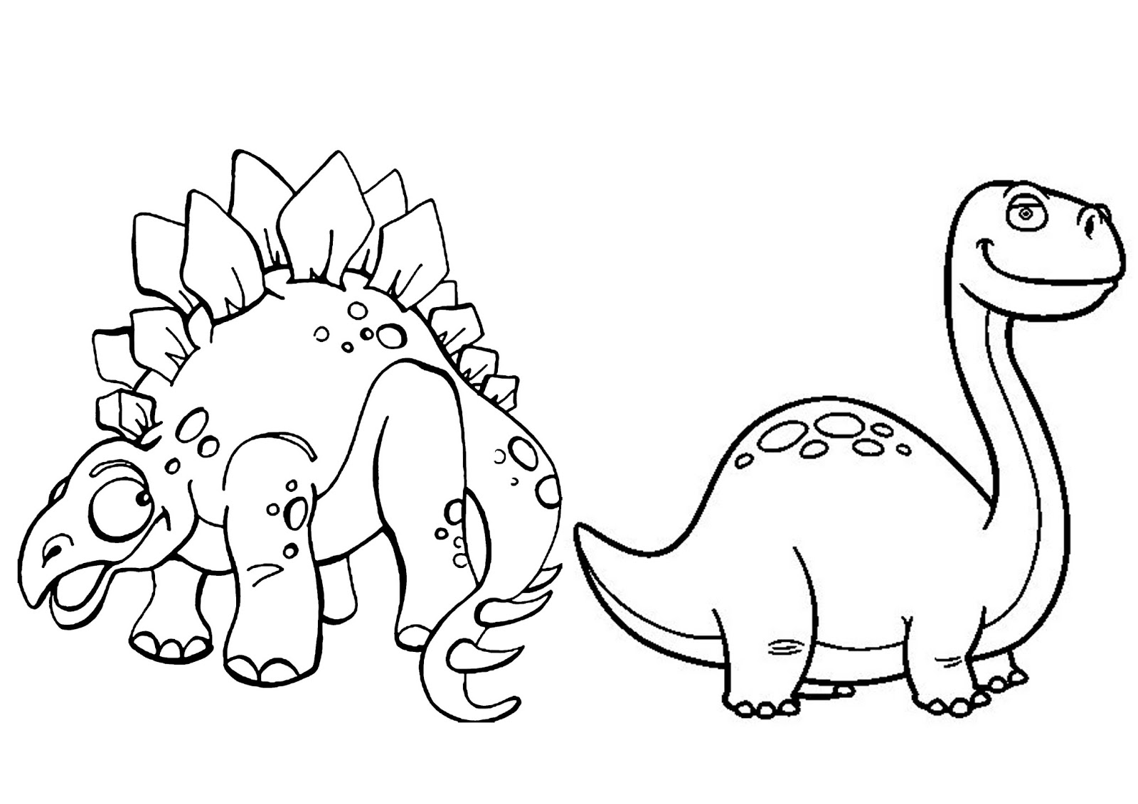 dibujos para dinosaurios colorear gratis imprimir - Disney para ...