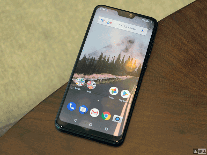 The display of the ZenFone Max Pro M2's display!