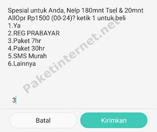 Paket Nelpon Telkomsel Mingguan