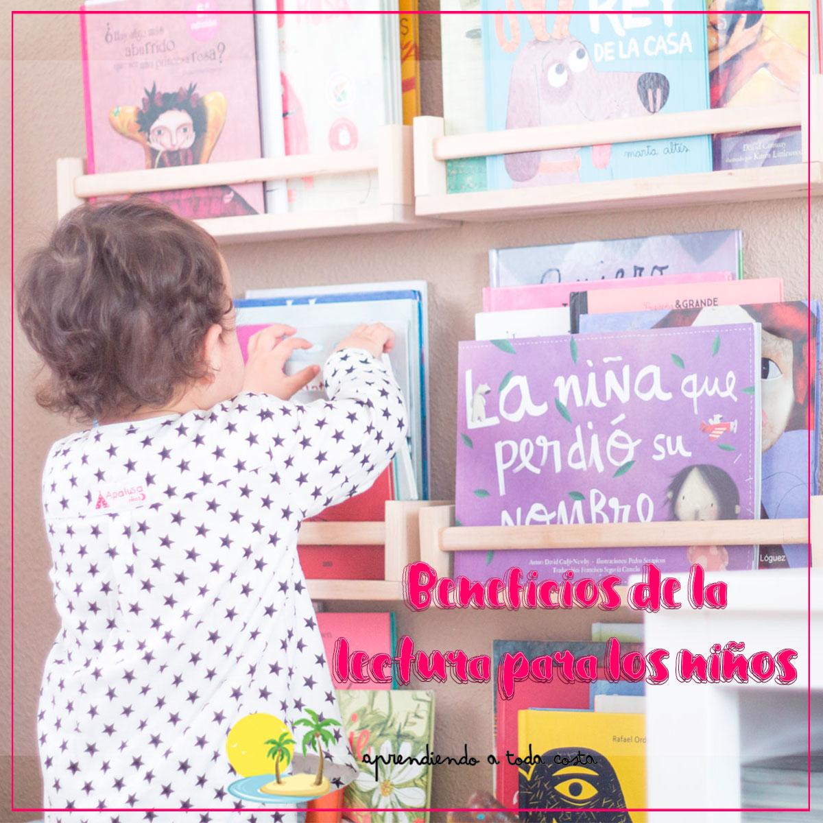 Beneficios de la lectura niños miniatura