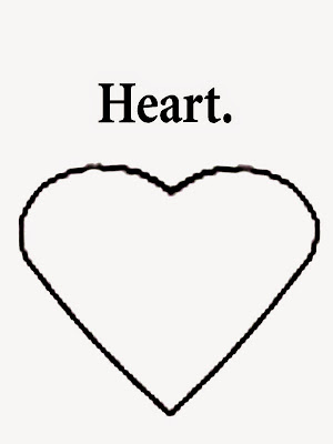 heart shape coloring pages - photo#15