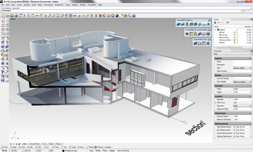 Notizie su rhino ed altro visualarq 1 4 for Software architettura 3d