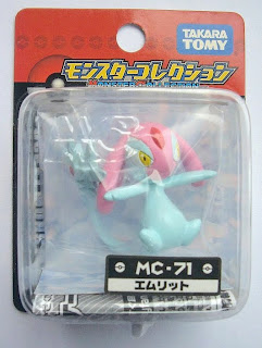 Mesprit Pokemon Figure Tomy Monster Collection MC series
