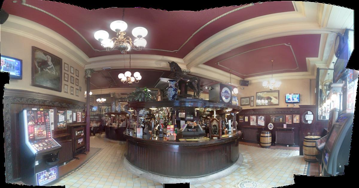 A Hauf Stop Horseshoe Bar