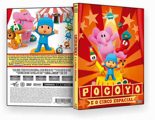CAPA DVD – Pocoyo E O Circo Espacial – ISO