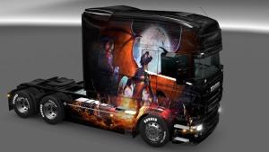 Scania RJL Phenix skin mod