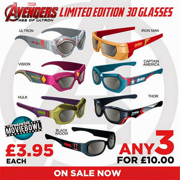 3d Glasses Avengers Age of Ultron