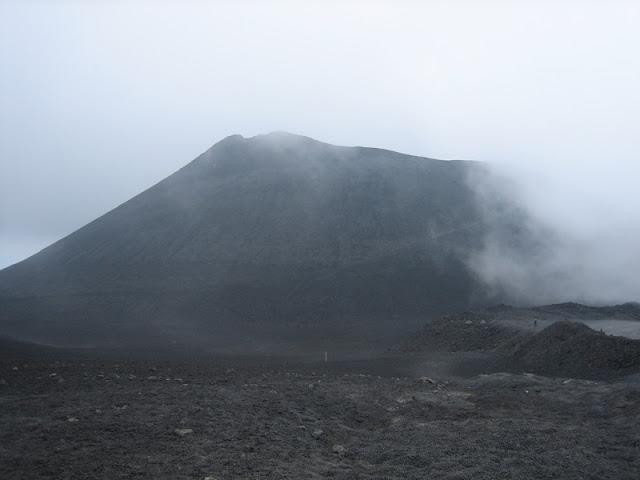 Monte Etna - Inicio de senderos