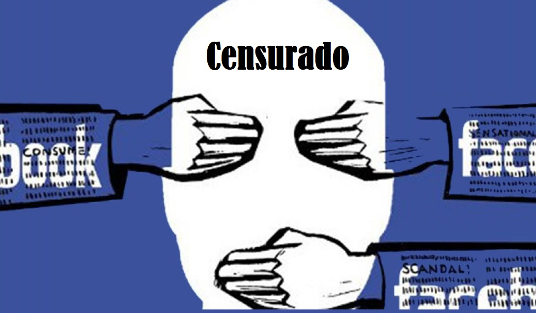 Facebook, Google declaram que todo discurso pró-liberdade é spam político ou discurso de ódio,