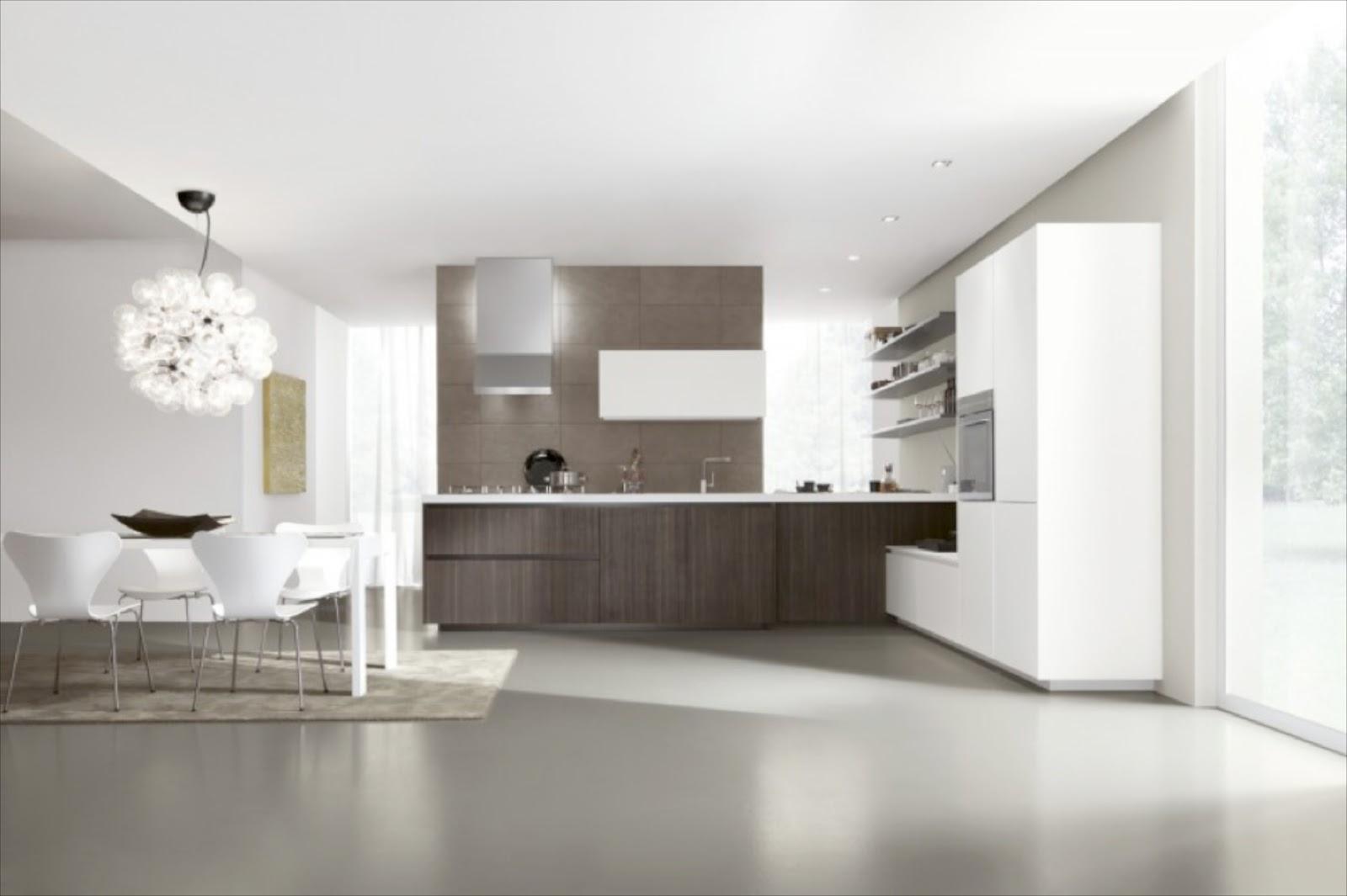 Lampadari moderni cucina soggiorno acciaio ispirazione for Cucina open space con pilastri